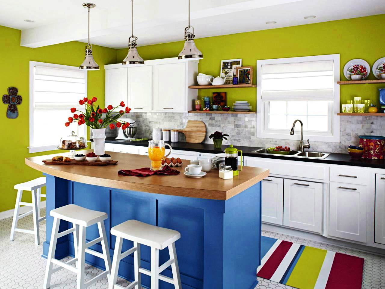 brilliant modern kitchen color ideas kitchen brilliant kitchen