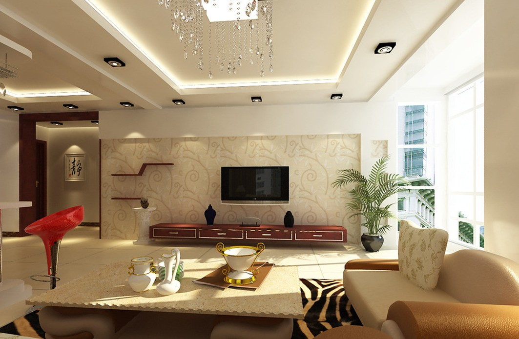 fantastic living room wall decor for elegant sitting room with wide table and cozy sofas
