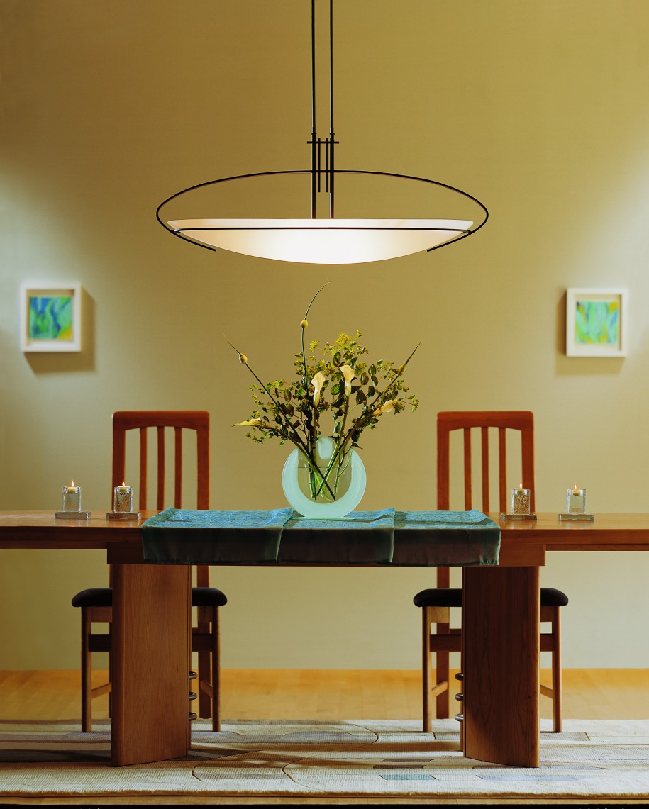 Fantastic Pendant Lighting also Wooden Dining Table and Two Chairs