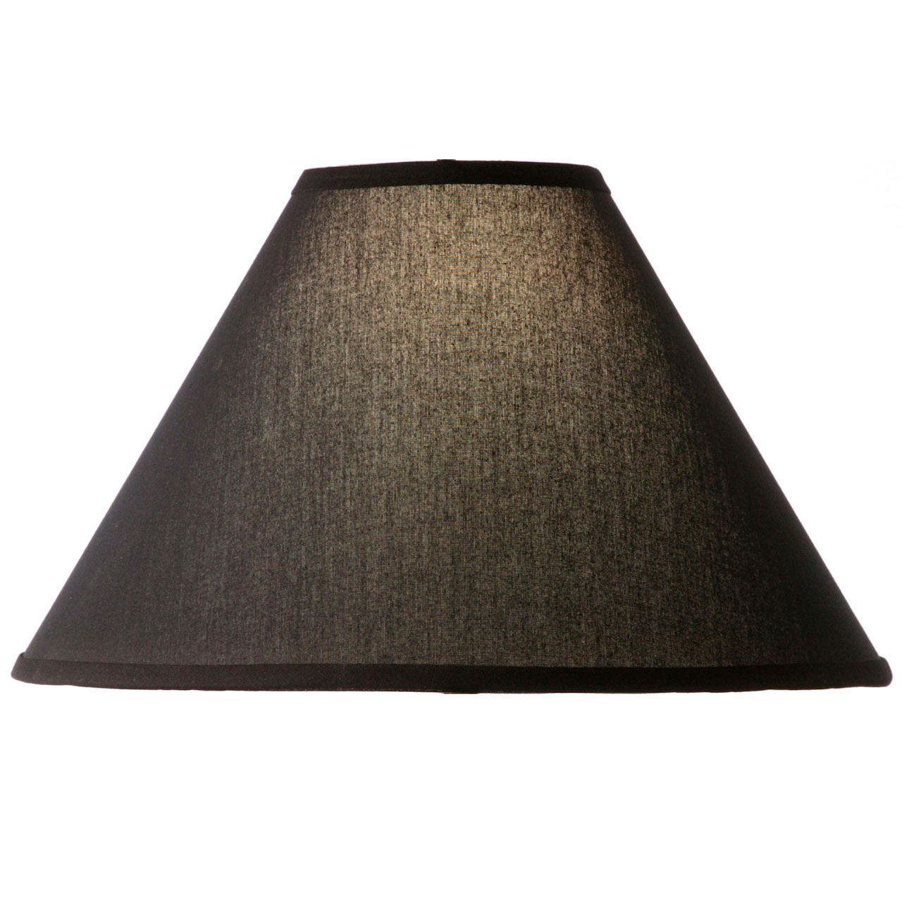 Fascinating Black Lamp Shades from Cloth Material Used in Bright Table and Floor Lamps