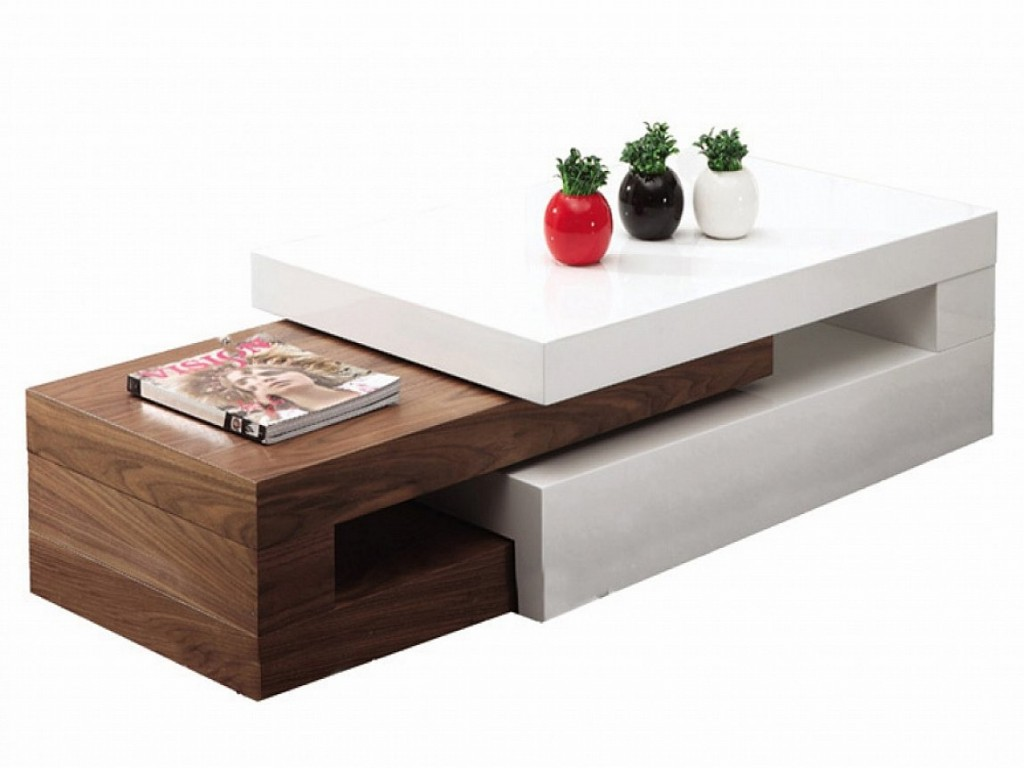 Fascinating Design with White Color Accent and Chic Wooden Material