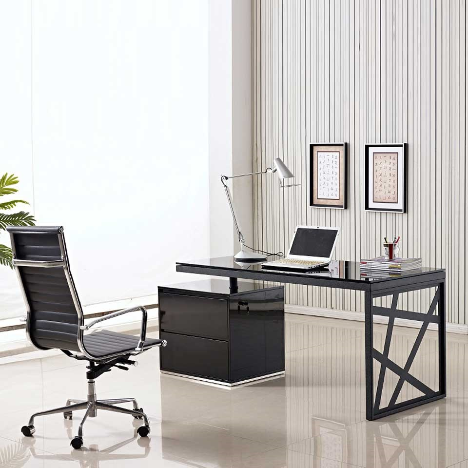 Modern Office Desk ~ Guides to buy modern office desk for home midcityeast