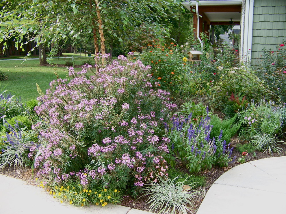 Flower bed ideas the ultimate touch of the nature in your for Front yard flower garden ideas