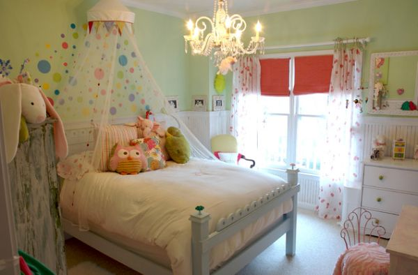 Graceful Chandelier also Princess Canopy Bed With Mosquito Net Decor