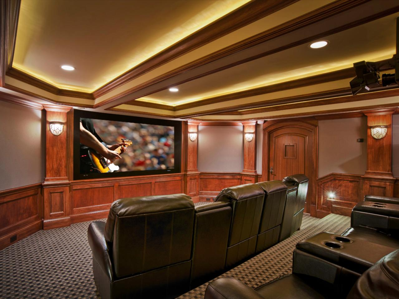 Tips to make home theater ideas become true midcityeast for Basement room