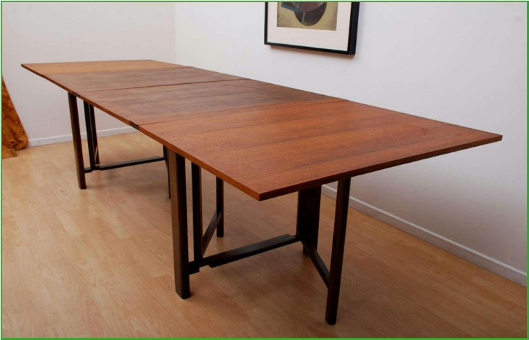 Various ideas of folding dining table with a bunch of benefits for a home with a small dining - Foldable dining table ...