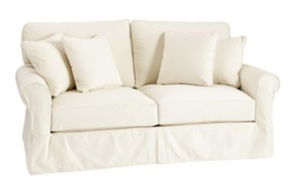Lovely Design Picture for Cozy Sofa with Pure Color Accent