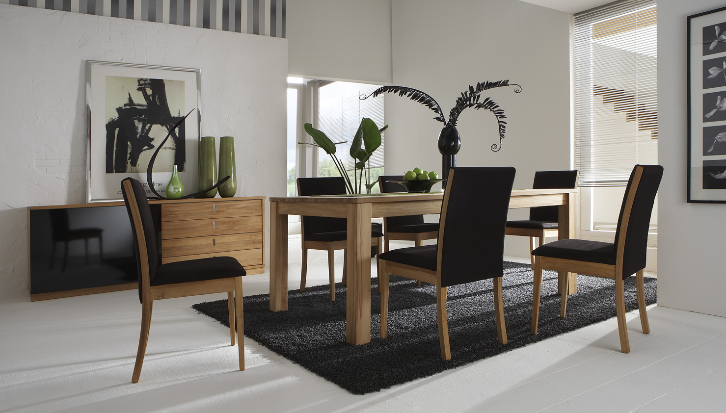 Magnificent Dining Room Furniture Using Table and Charming Chairs Decor