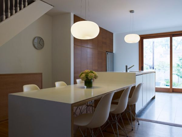 Magnificent Pendant Lighting also Modern Kitchen Tables and Chairs Decor