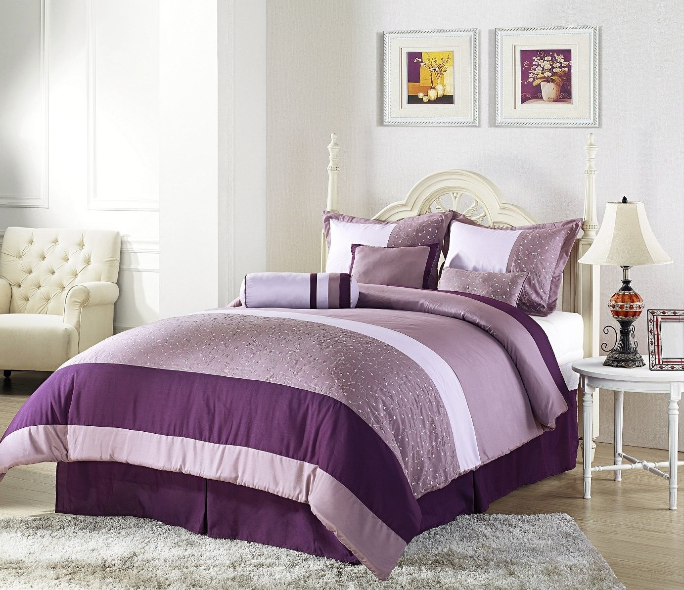 The Wide Ranges Of Inspiring Purple Bedroom Ideas And Also