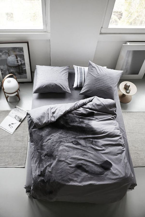 Masculin Accssory Decor for Grey Bedroom Ideas with Best Masterbed on Dark Floor