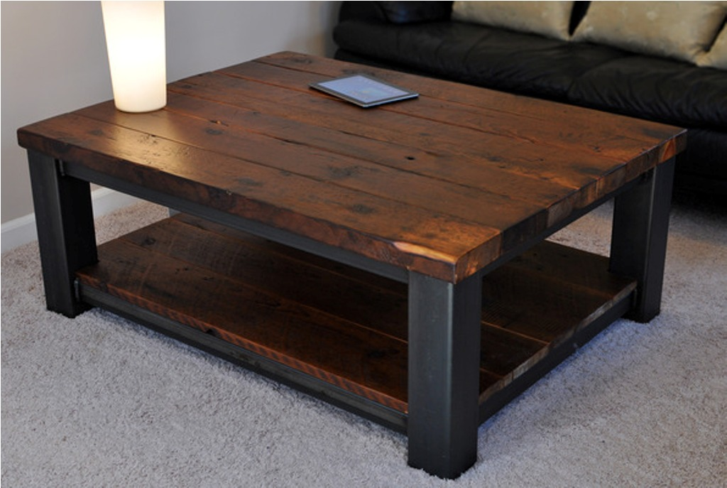 Design coffee table legs with modern style midcityeast for Rustic coffee table