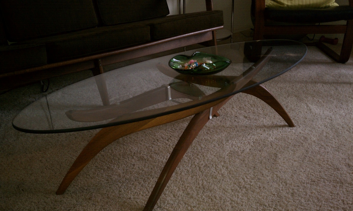 Popular 183 list modern glass top coffee table for Contemporary glass top coffee table