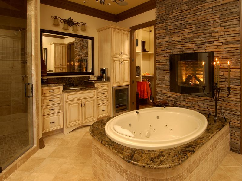 Coastal Theme for Master Bathroom Ideas - MidCityEast