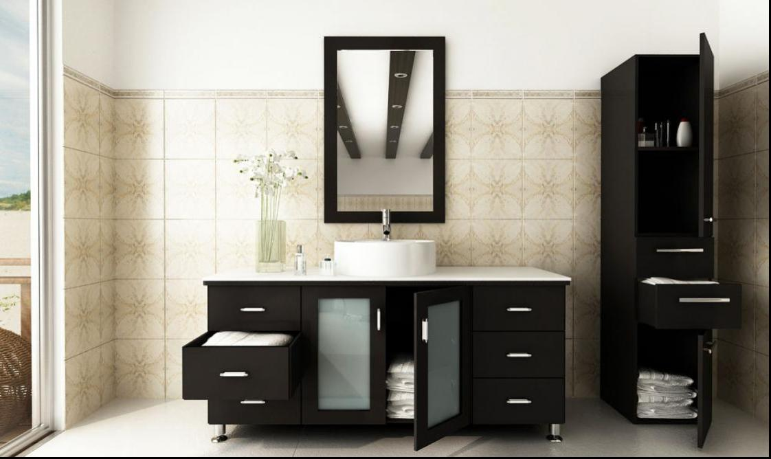 of narrow glass vessel bowl sink countertops combo with cabinets bathroom mount size sinks vanities vanity medium