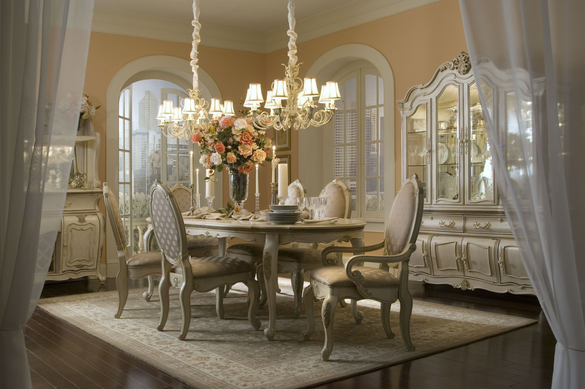 Perfect Dining Room Lighting Ideas above Marvelous Table and Chairs