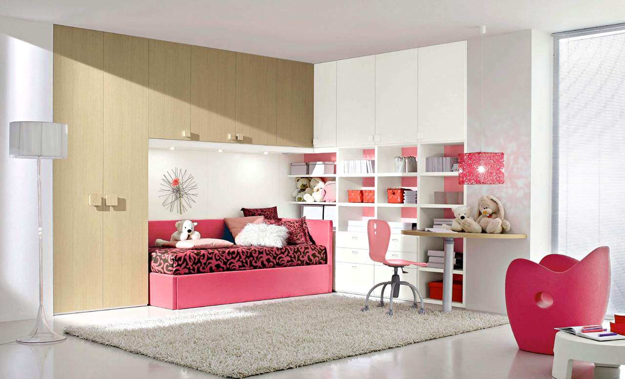 Teenage Girl Room Ideas of Decorations - MidCityEast
