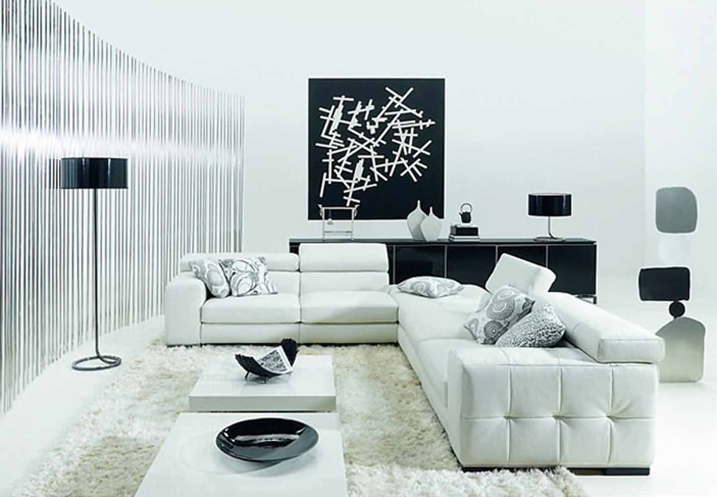 715l black and white leather contemporary living room living room furniture ideas to do in your home midcityeast