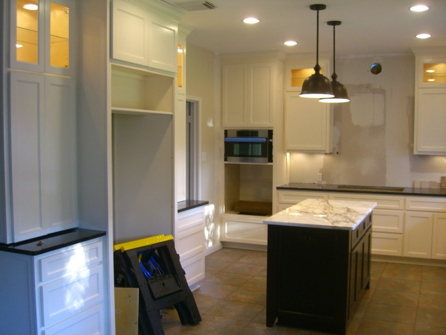 Interesting Built Black Kitchen Island In Your Modern Home Midcityeast With  Island In A Kitchen.