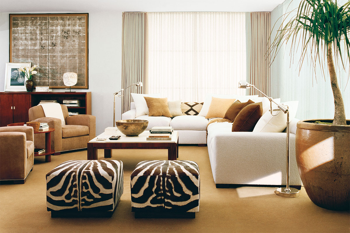Romantic Ambience From Nice Brown Color Accent in Best Living Room Area Rugs Decor