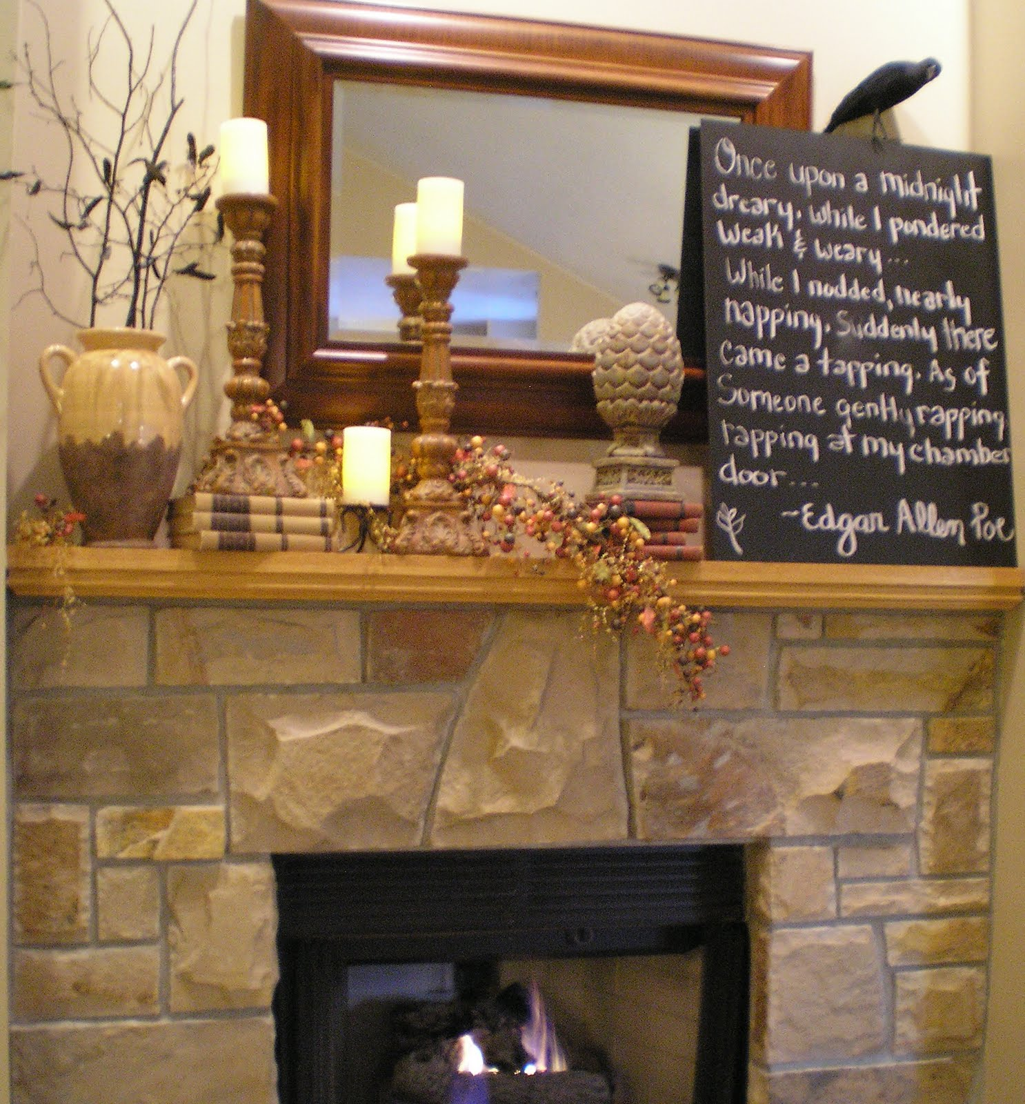four fireplace mantel decorating ideas home decorating. tips on ...