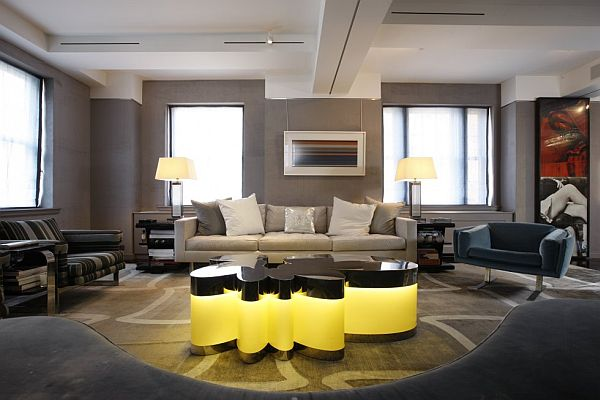 Tantalizing Furniture For Gray Living Room Ideas With Sofa Between Lamps