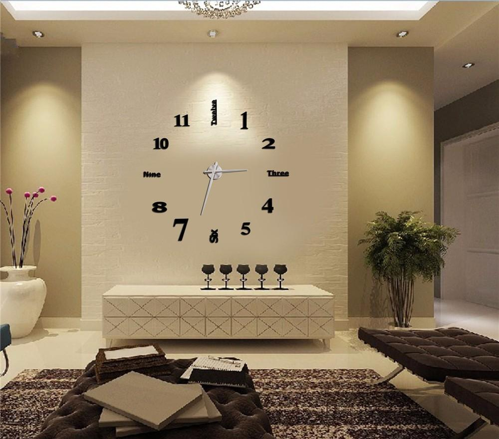 Unique modern wall clocks ideas for minimalist room midcityeast - Fancy wall designs ...