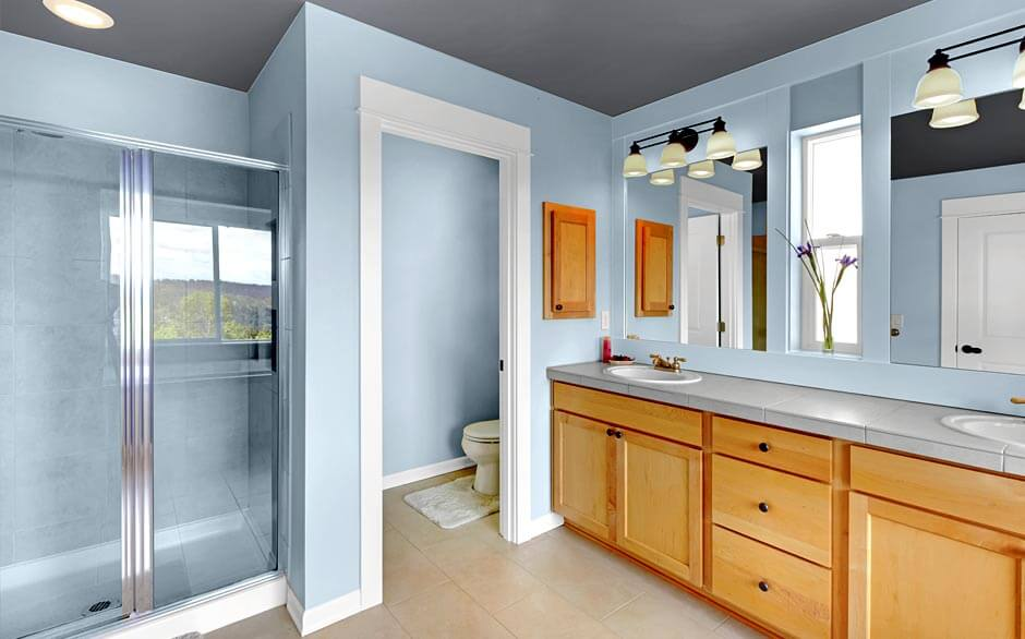 Bathroom paint colors ideas for the fresh look midcityeast for Paint bathroom ideas color