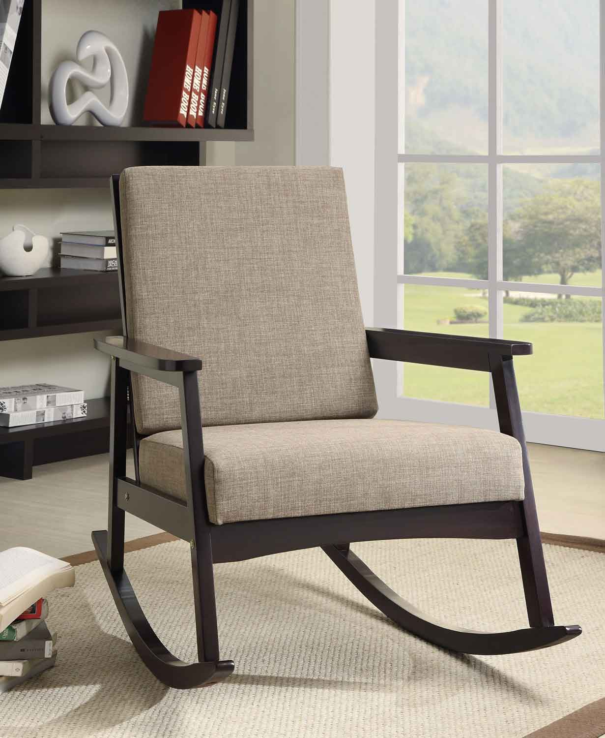 Getting the stylish modern rocking chair for your comfy yet trendy modern room midcityeast for Contemporary living room chairs