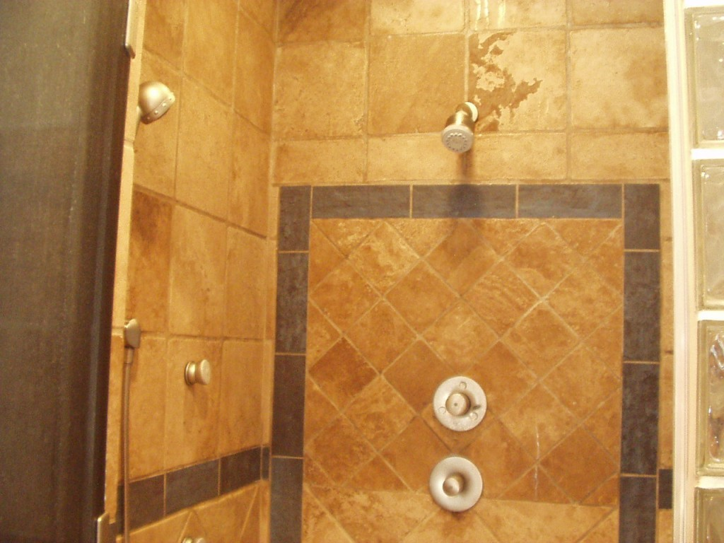 Fliesen Bad Braun: Ideas For Shower Tile Designs
