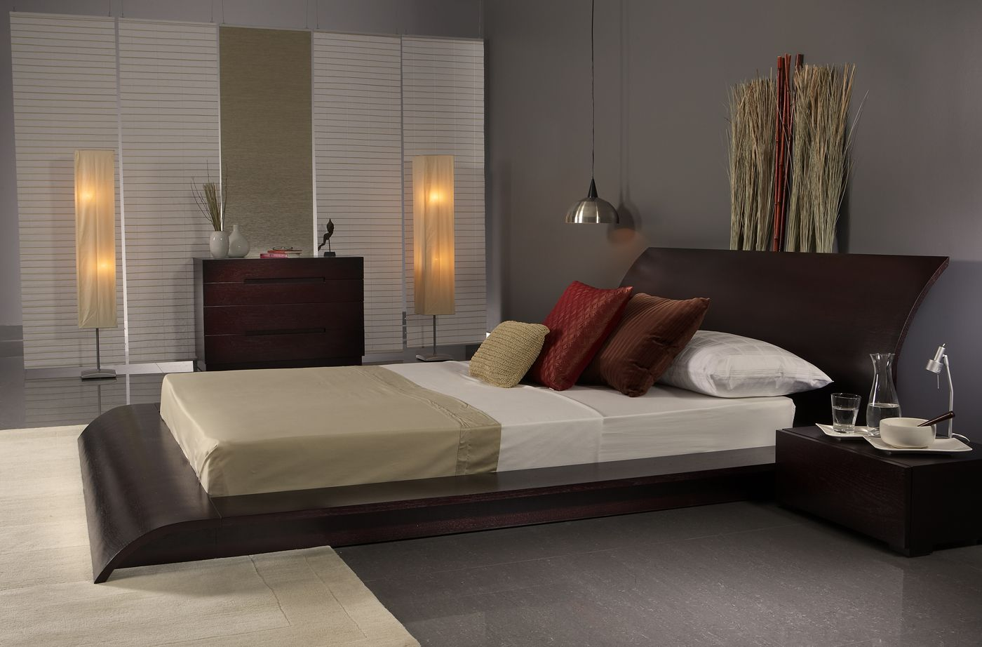 It s time for choosing the modern bed frames you never for Ambiance deco chambre adulte