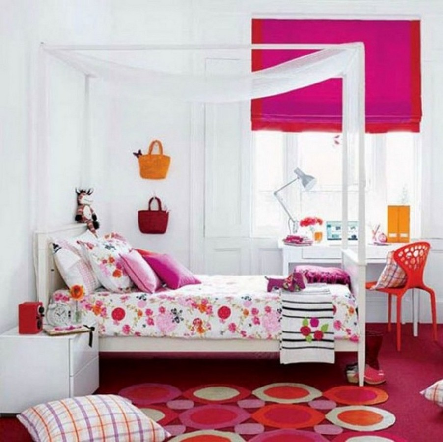 Wondrous Bedroom Decor Using Lavish Bed also Study Table Set