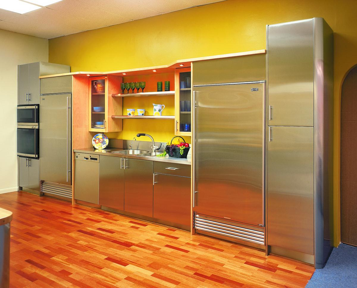 How To Paint Metal Kitchen Cabinets Artmakehome