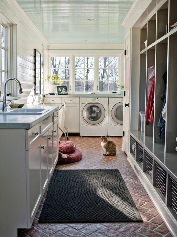 laundry room narrow