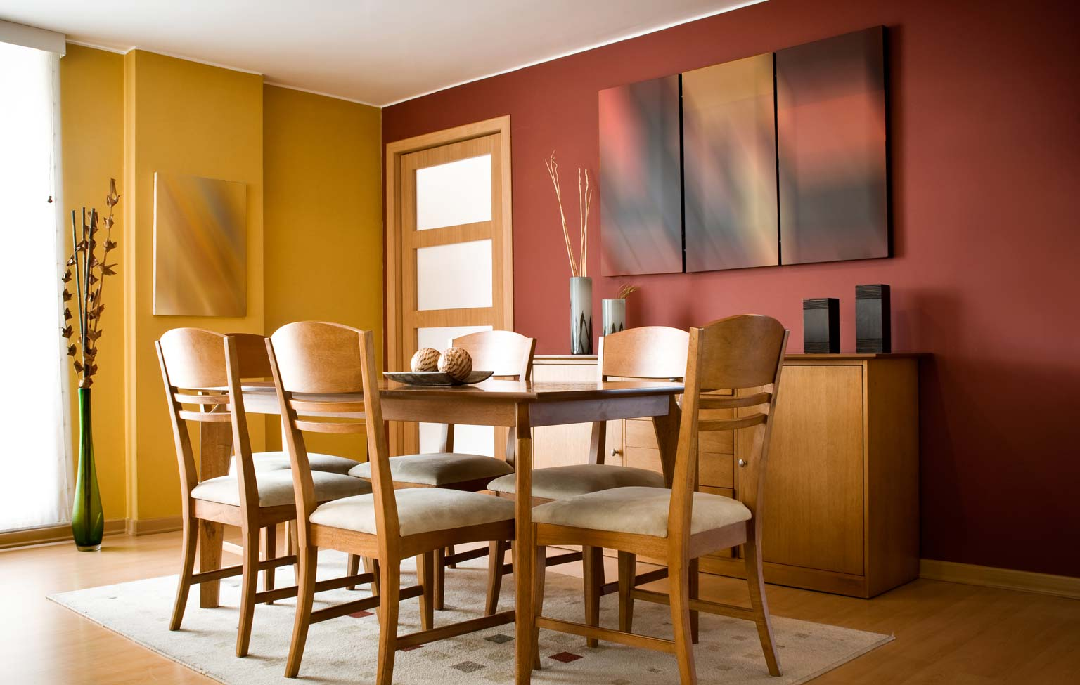 best color for dining room walls | Some Ideas for Determining the Right Dining Room Colors by ...