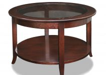 Fascinating Round Wood Coffee Table for Home Coffee Bar