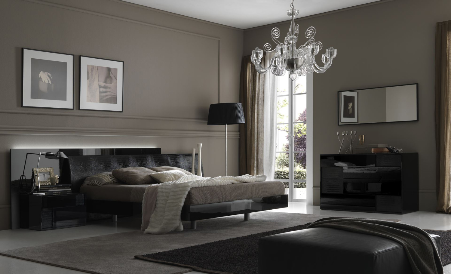 Ordinaire Adorable Design Of The Gray Bedroom Ideas With Grey Wall Ideas Added With  Grey Rugs And