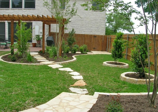 Alluring Patio also Concrete Floor Step for Backyard Garden Ideas
