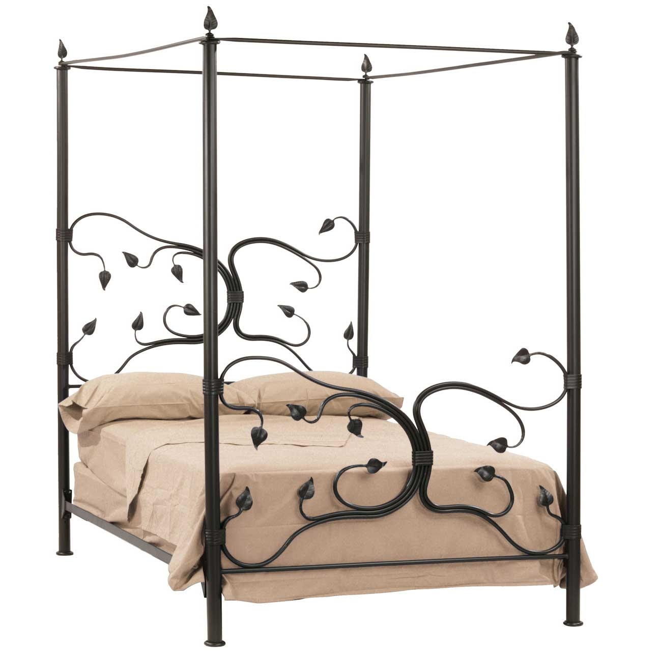 Amusing Design Of The Canopy Bed With Grey Bed Ideas Added With Black Bones With Lovely Design For Bedroom Areas