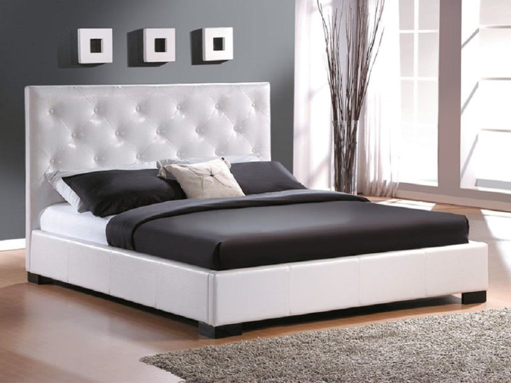 Astonishing Design Of The Brown Wooden Floor Ideas With Grey Rugs And Grey Wall With White Bed Modern Wall Color Ideas