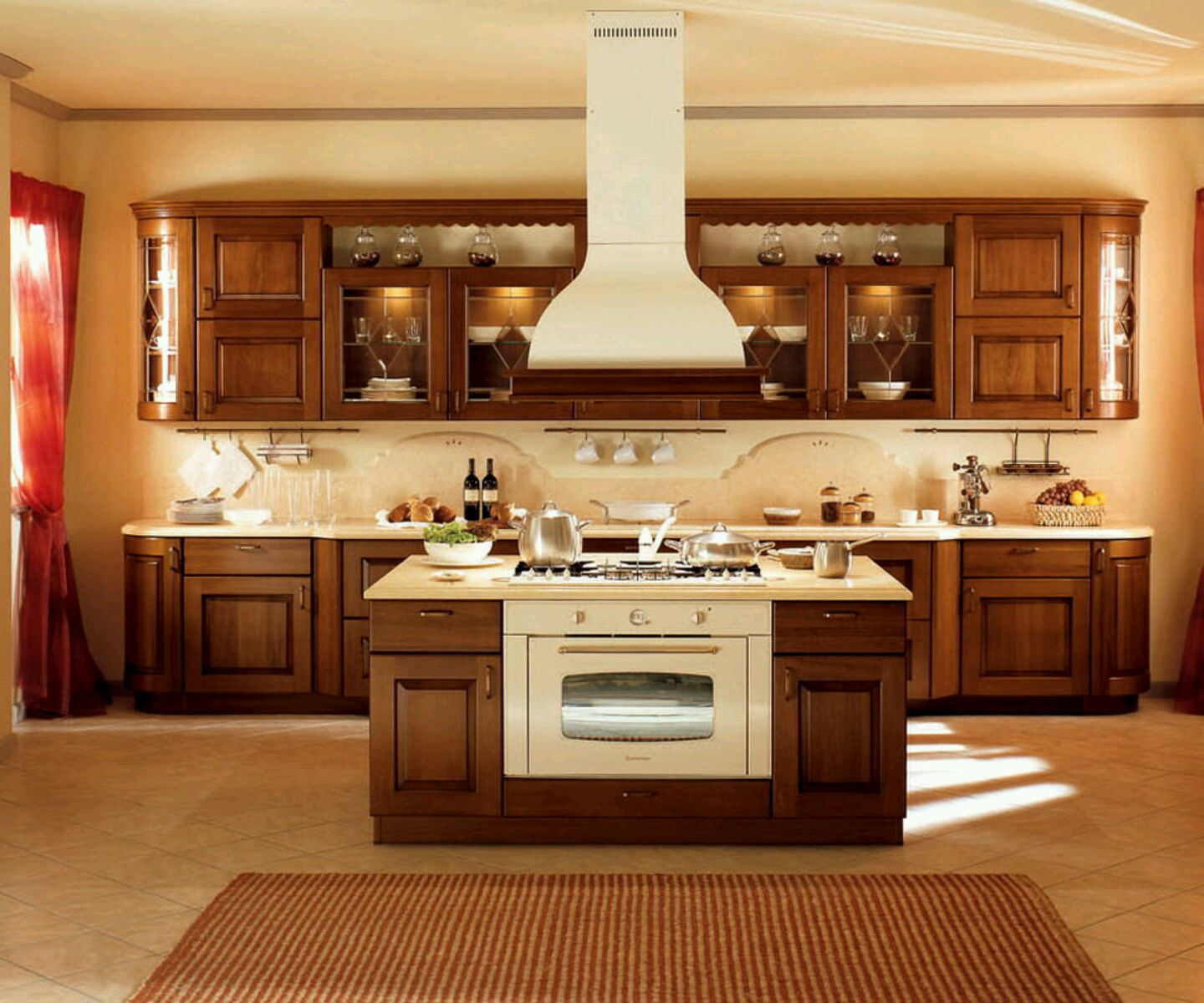 Design For Kitchen Cabinet: Custom Kitchen Cabinets Designs For Your Lovely Kitchen