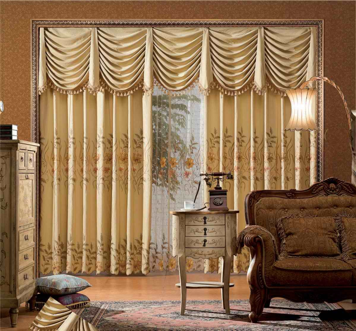 Living Room Curtain Ideas to Perfect Living Room Interior Design ...
