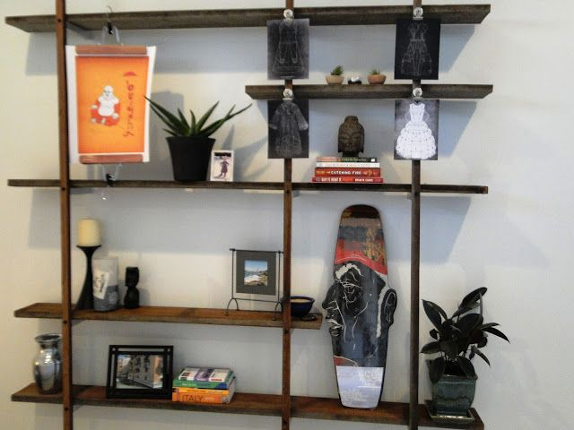 Awesome Design of Wall Mounted Shelving From Wooden For Accessories