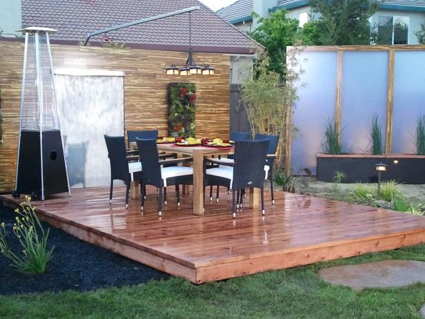 Beckoning Dining Table and Chair For Elegant Small Deck Ideas