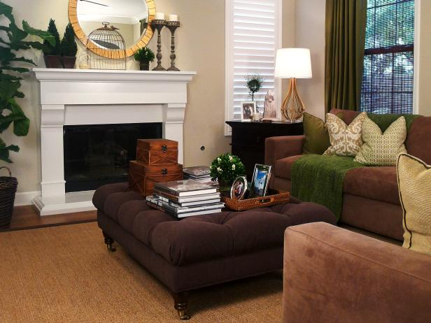 Beckoning Sofa and Tufted Coffee Table To Decorate Living Space