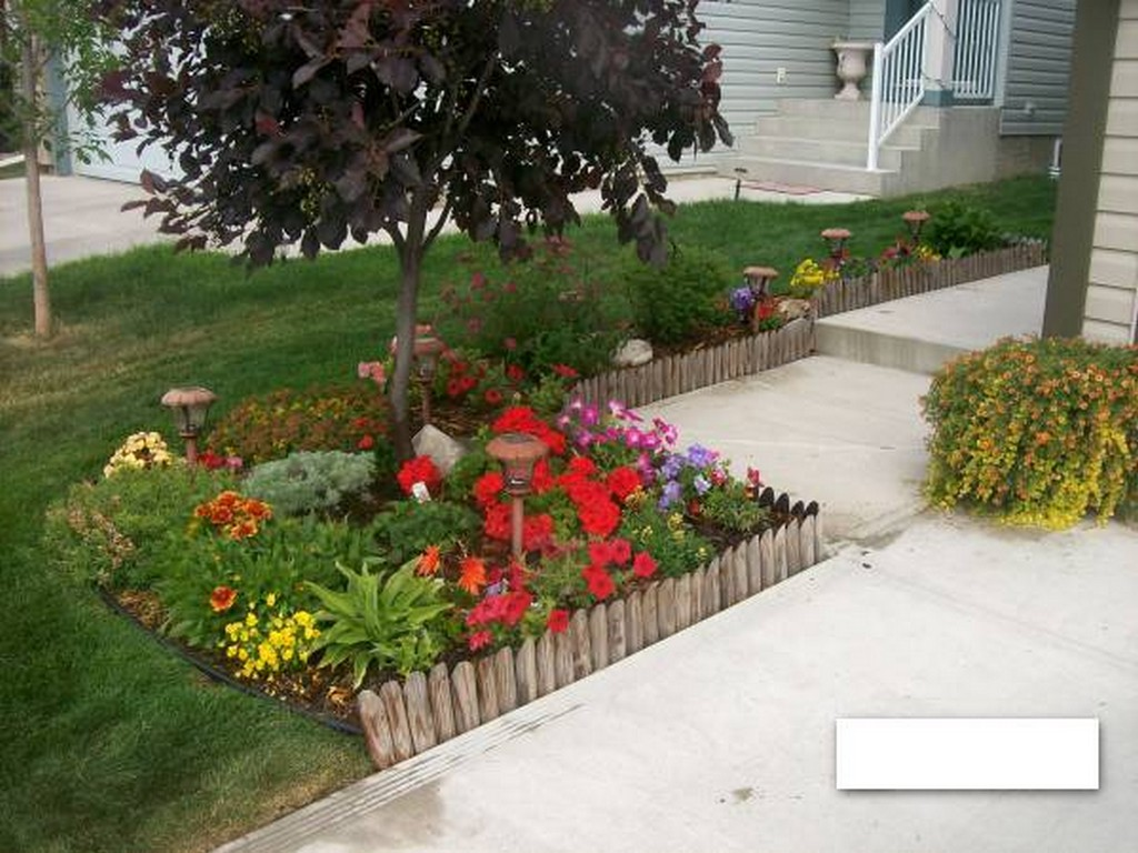 Build a better backyard easy diy outdoor projects for Flower ideas for front yard