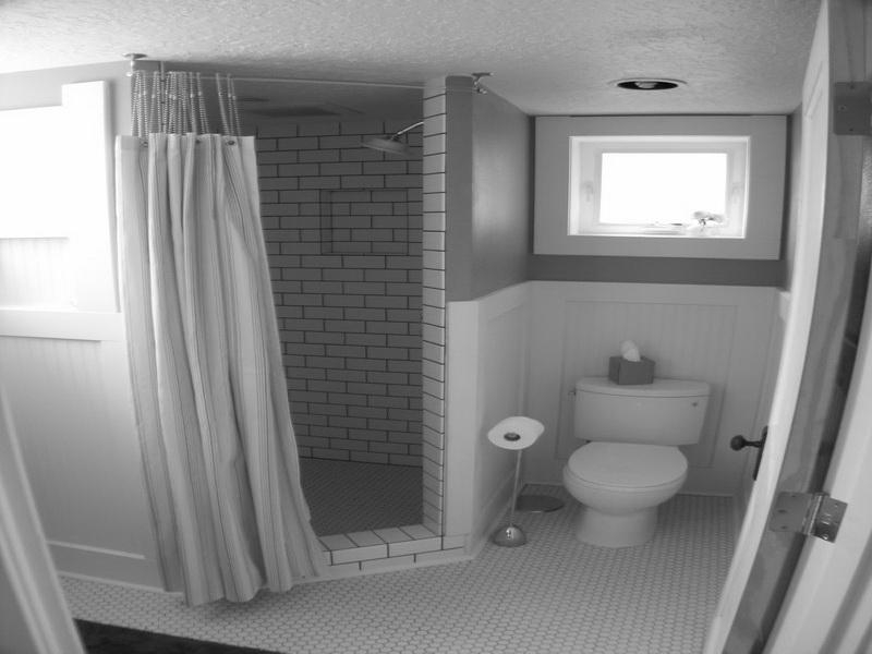 Fantastic Design Of The Bathroom Theme Ideas With White Toilets Ideas Added With Single Windows Above The Toilets