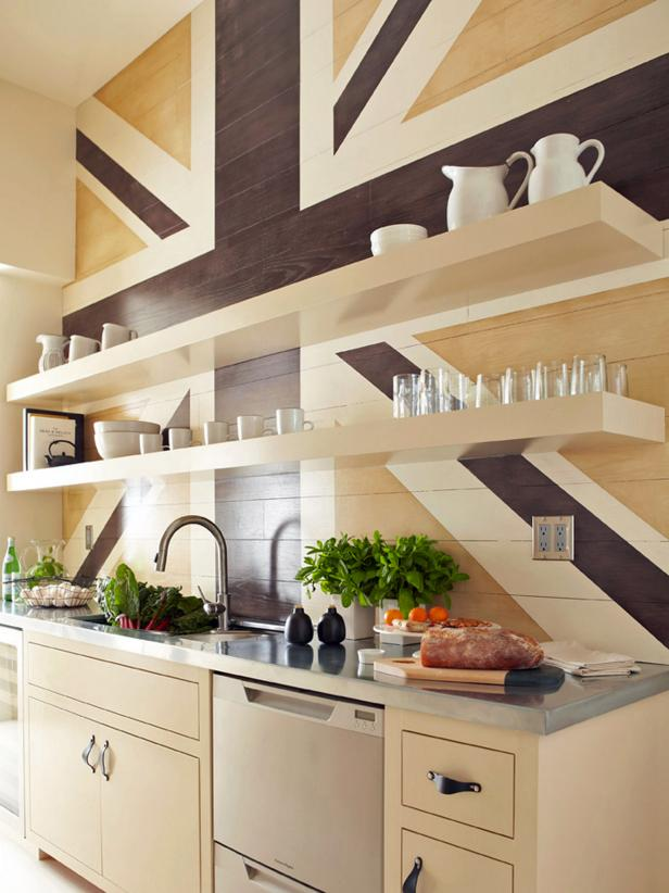 Horrible Cabinet Using Cute Top also Wooden Wall Shelves Decor