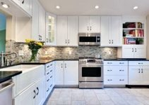 Enchanting Kitchen with White Cabinets