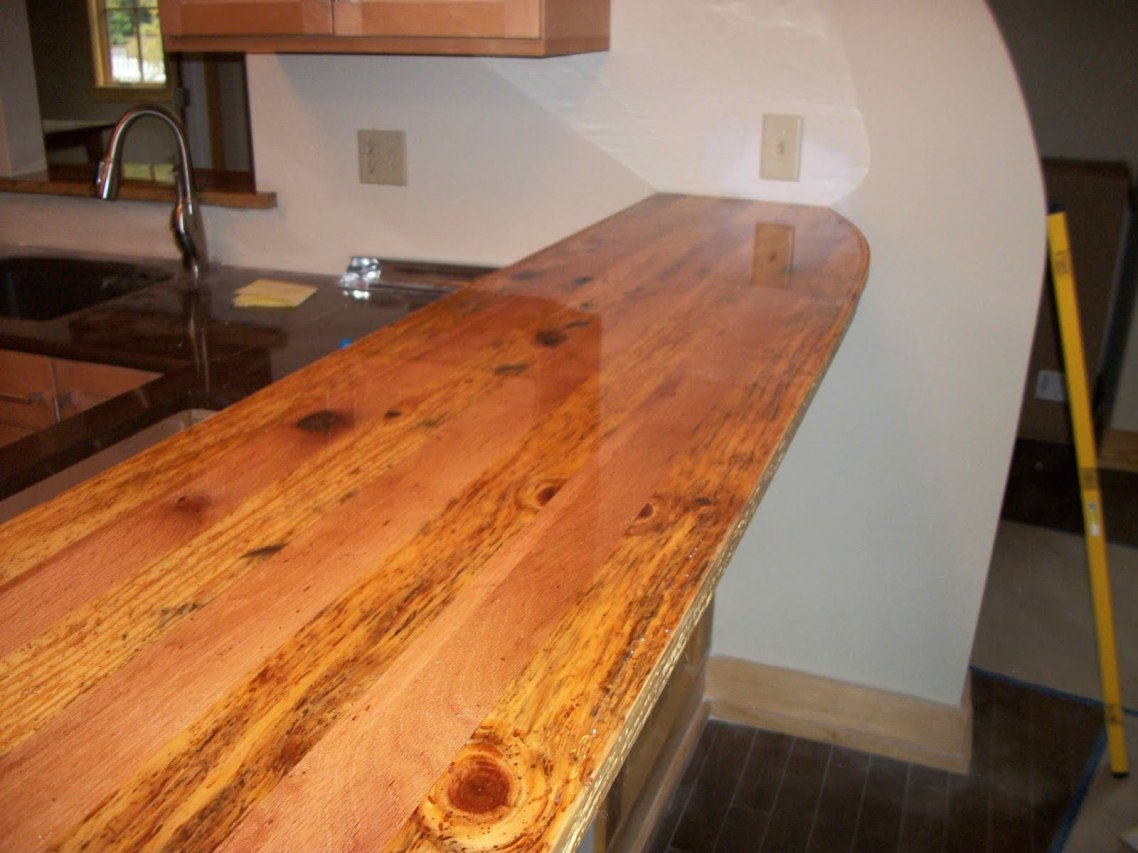 All about wood kitchen countertops you have to know for Kitchen countertops
